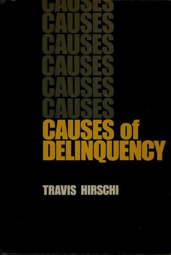 Causes of delinquency.