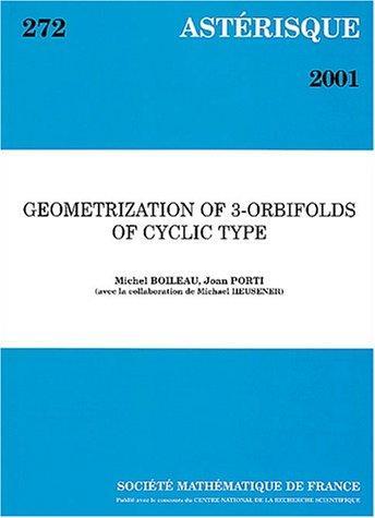 Geometrization of 3-orbifolds of cyclic type