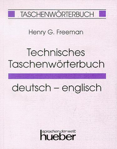 Technisches Taschenwörterbuch