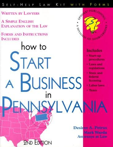 Download How to start a business in Pennsylvania