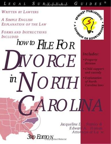 Download How to file for divorce in North Carolina