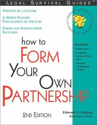 How to form your own partnership