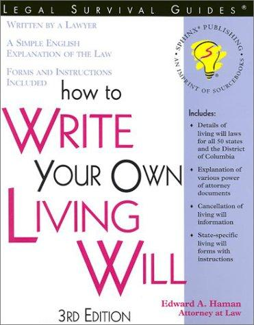 How to write your own living will