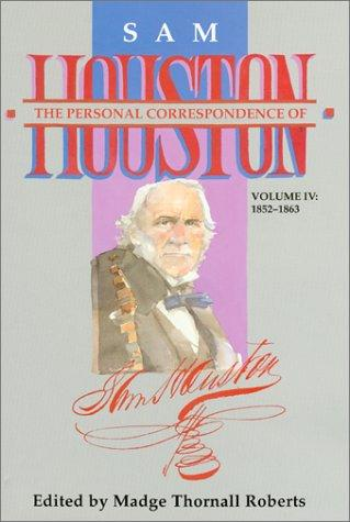 Download The Personal Correspondence of Sam Houston