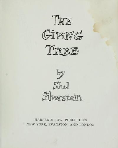 The giving tree.