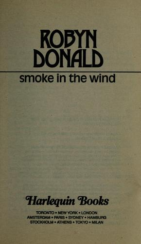 Smoke In The Wind