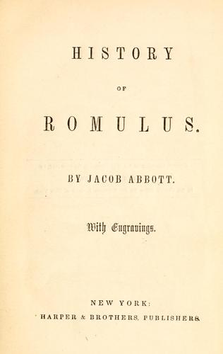 Download History of Romulus