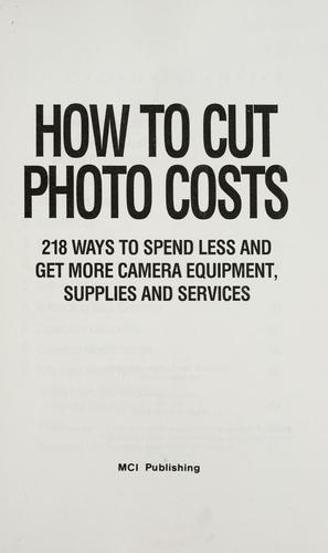 Download How to cut photo costs