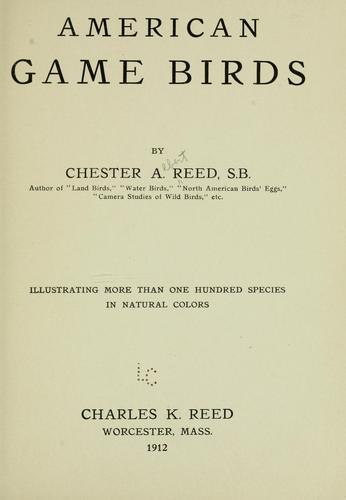 Download American game birds