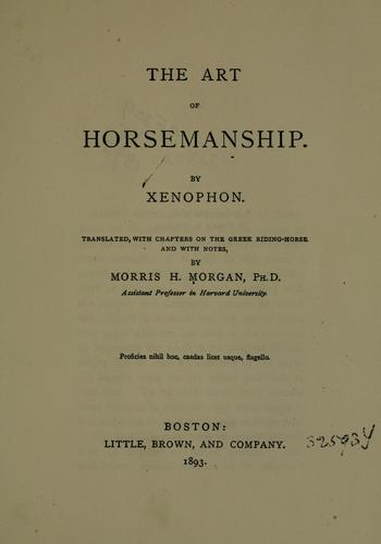 Download The art of horsemanship