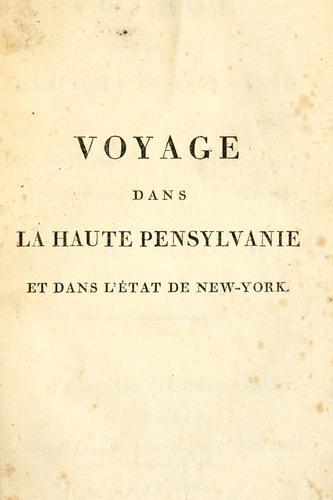 Download Voyage dans la haute Pensylvanie et dans l'état de New-York