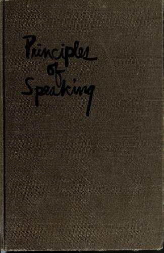 Download Principles of speaking