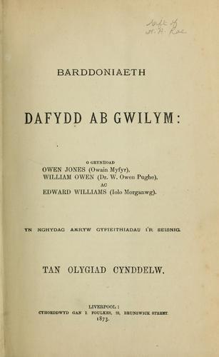Barddoniaeth Dafydd ab Gwilym