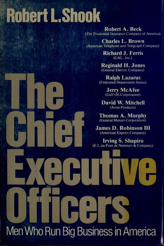 The Chief Executive Officers