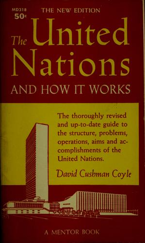 Download The United Nations and how it works.