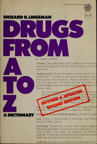 Drugs from A to Z