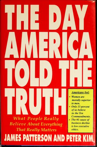 The day America told the truth by James Patterson