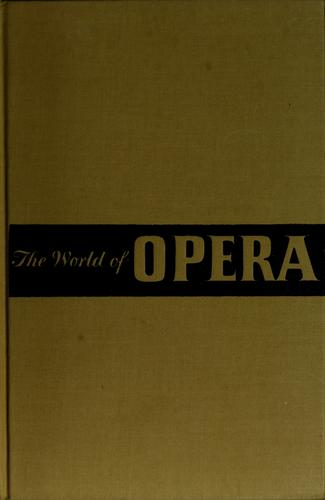 The world of opera.