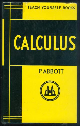 Teach yourself calculus.