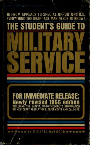 The student's guide to military service.