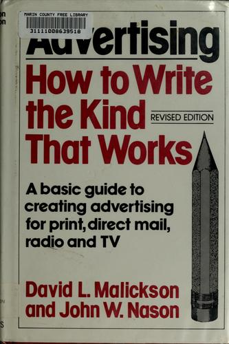 Advertising–how to write the kind that works