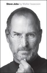 Book Cover: 'Steve Jobs' by Walter Isaacson