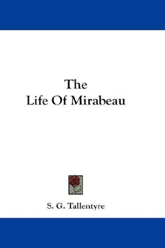 Download The Life Of Mirabeau