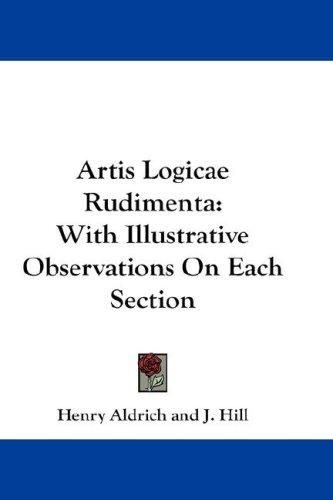 Artis Logicae Rudimenta