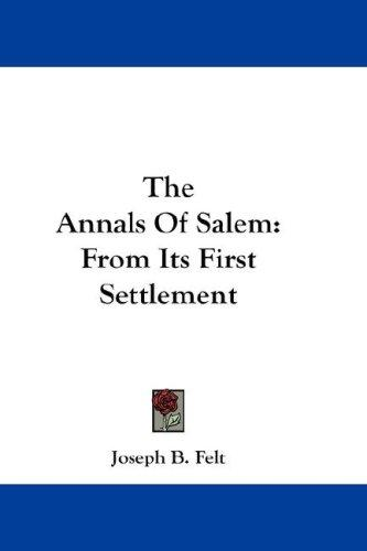 The Annals Of Salem