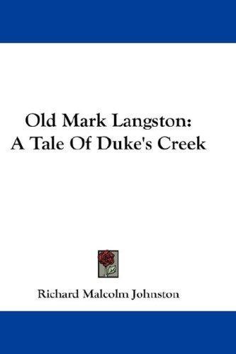 Old Mark Langston