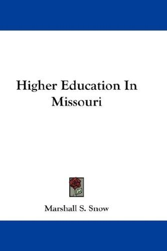 Higher Education In Missouri