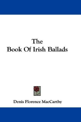 The Book Of Irish Ballads