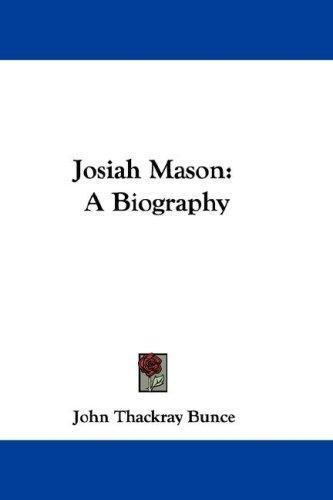 Download Josiah Mason