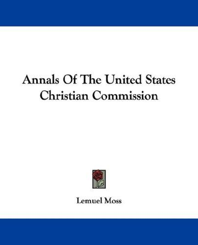 Annals Of The United States Christian Commission