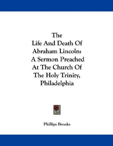 Download The Life And Death Of Abraham Lincoln