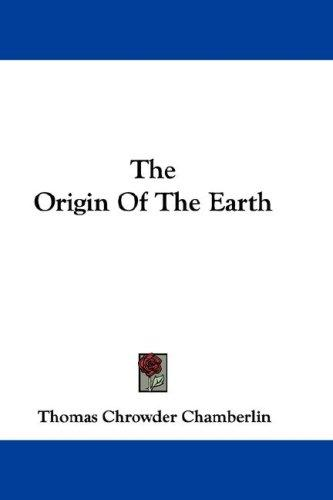 Download The Origin Of The Earth