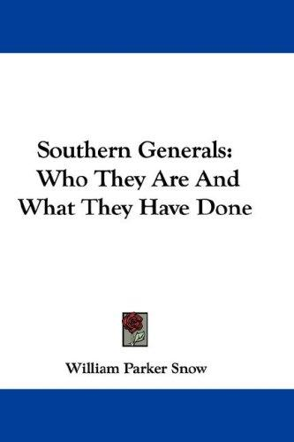 Southern Generals