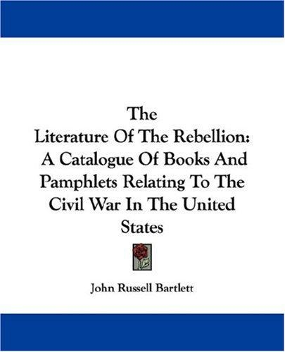 Download The Literature Of The Rebellion