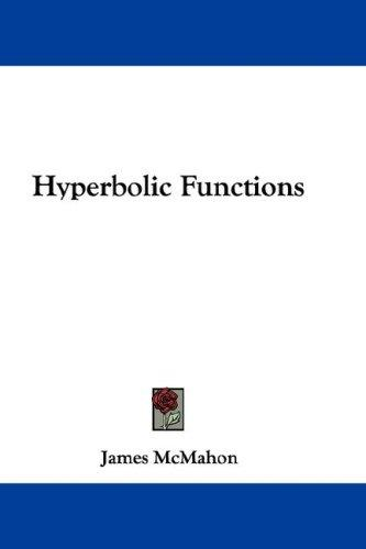 Download Hyperbolic Functions