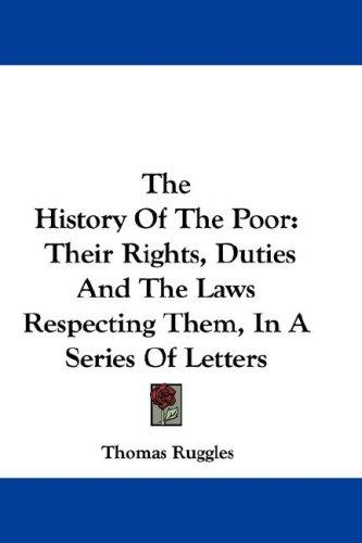 Download The History Of The Poor