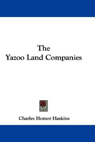 Download The Yazoo Land Companies