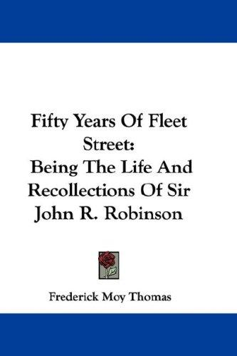 Fifty Years Of Fleet Street