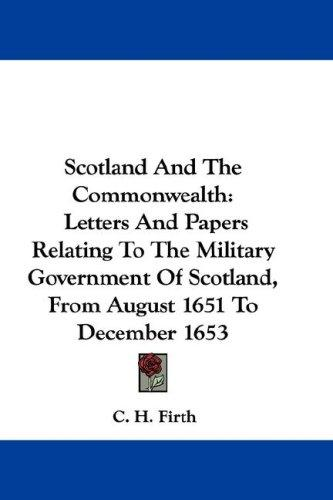 Scotland And The Commonwealth