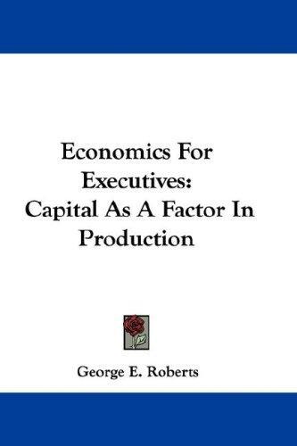 Download Economics For Executives