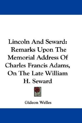 Lincoln And Seward