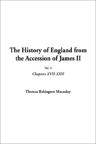 Download The History of England from the Accession of James II