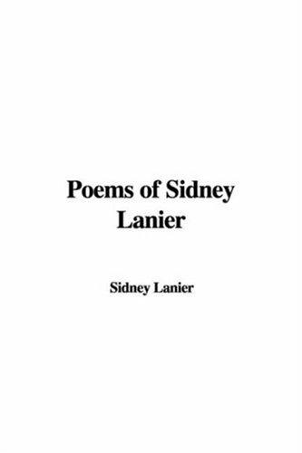 Download Poems of Sidney Lanier