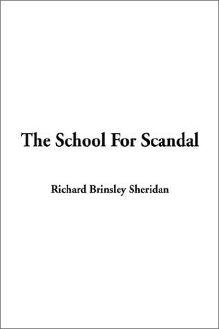 Download The School for Scandal