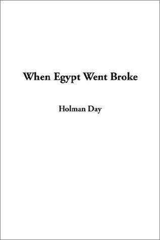When Egypt Went Broke