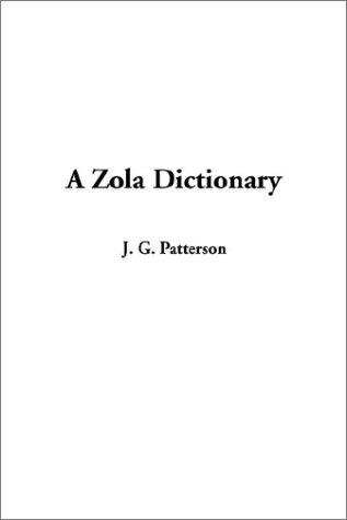Download A Zola Dictionary